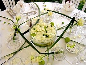 déco table zen mariage