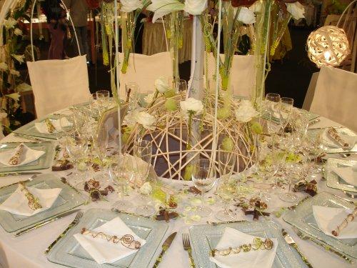 décoration de table pour mariage #2
