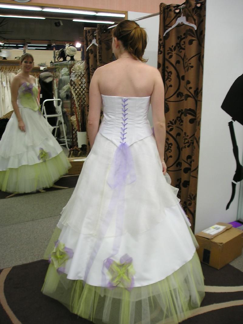 Robe de mariee liege fissette